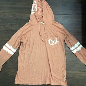 VS PINK light weight hoodie size small